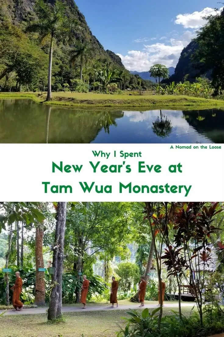 Tam Wua Forest Monastery New Year's Eve