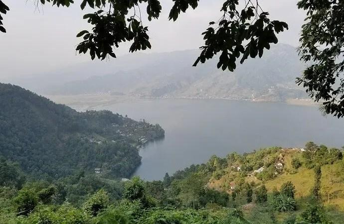 View of Pokhara