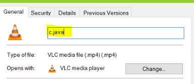 how to hide a video in windows