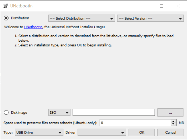 Creating a Bootable LIVE USB flash drive using Unetbootin on Windows