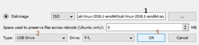 bootable USB unetbootin