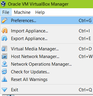 Virtualbox network settings NAT