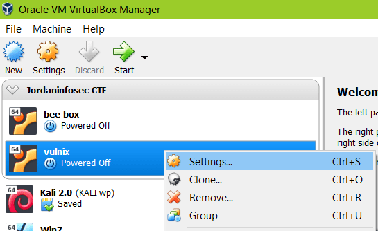 Virtualbox network settings NAT 3