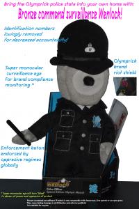 Bronze command surveillance Wenlock