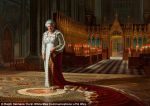 'The Coronation Theatre, Westminster Abbey: A Portrait of Her Majesty Queen Elizabeth II