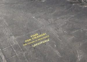 Greenpeace vandals