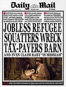 Not a refugee