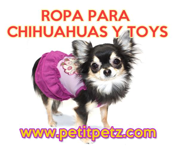 Moda para perros mini  Ropa Chihuahuas Yorkys Pomerania Cachorritos