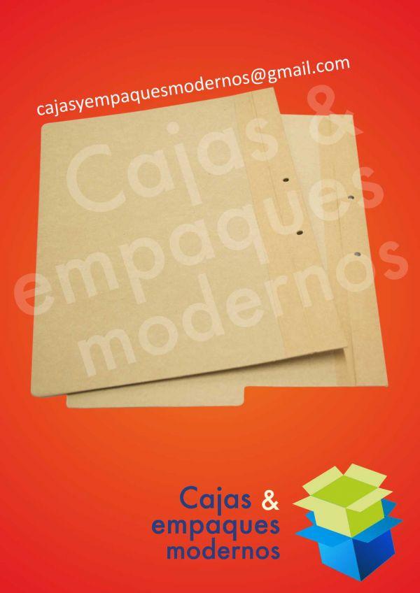 Carpetas para archivo cuatro aletas en propalcote desacificado y kratf