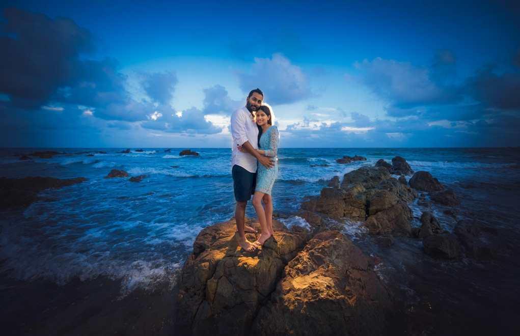 Indian couple Pre-Wedding shoot at Rayong, Thailand