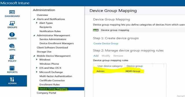 Intune Device Grouping