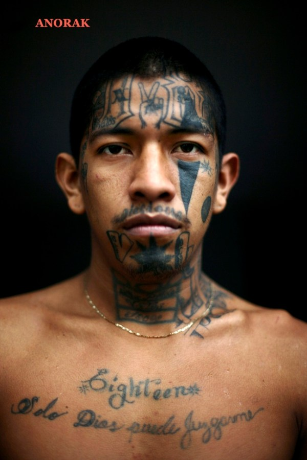 anorak in tattooed