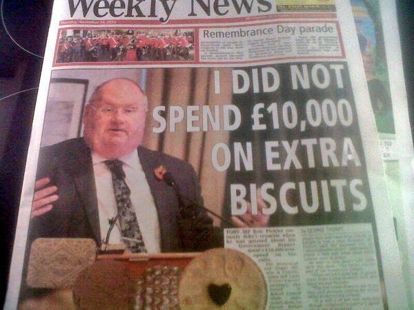 Image result for fat tory minister pickles