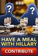 dinner-with-hillary-clinton Hillary Clinton Escort Services