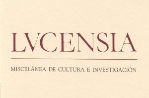 revista lucensia