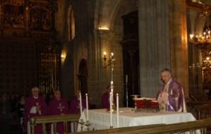 Misa acción grazas en Lugo polo Papa Francisco
