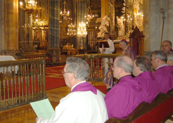 Misa en la Catedral por el nuevo Papa