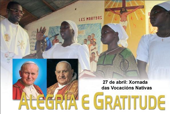 27 abril Vocacións Nativas galego