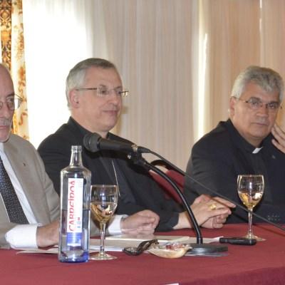 Benigno Blanco, el obispo de Lugo y Mario Vázquez