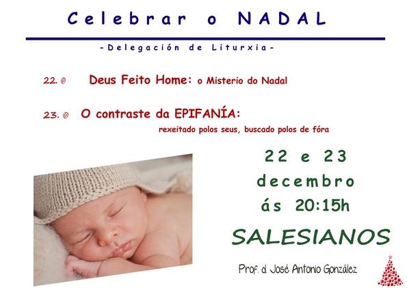 22 e 23 decembro formacion  na Milagrosa galego