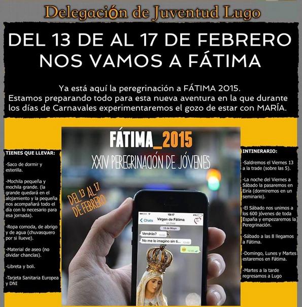 Copia de Peregrinación a Fátima