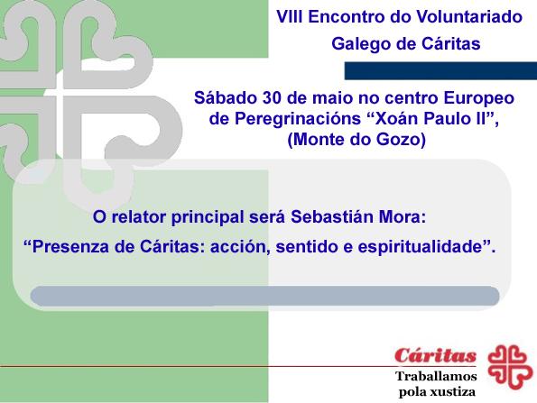 Encontro voluntarios Galicia