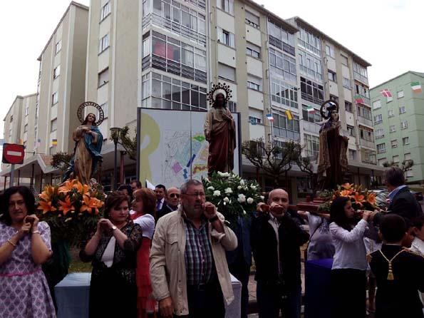 procesión Sagrado Corazón