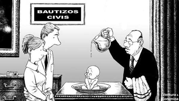 bautizo civil