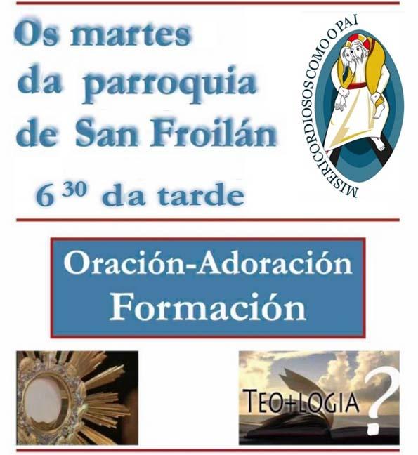 Martes da parroquia de S Froilán