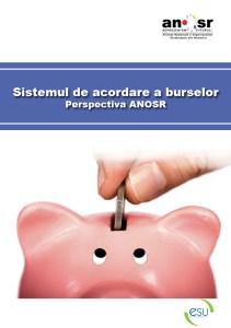 Sistemul de acordare a burselor sociale - perspectiva ANOSR