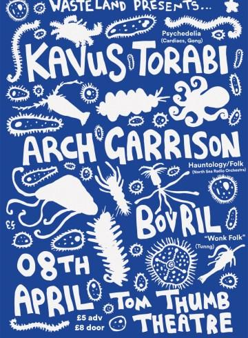 Kavus Torabi gig poster