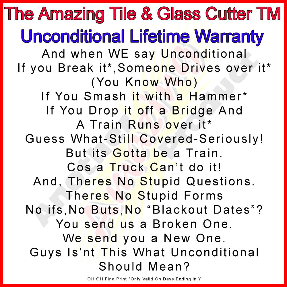 the amazing tile and glass cutter