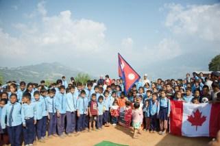 Sharada children and ABIN team