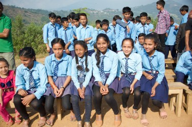 Sharada School kids