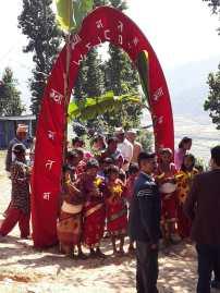 Ceremony in Aapchaur