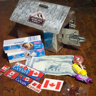 MOneyboxes for children of Aapchaur