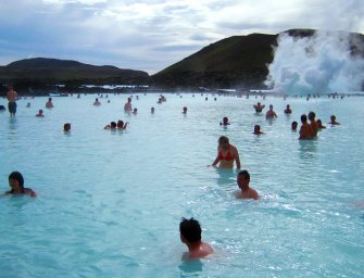 Soak up in the Blue lagoon, Iceland