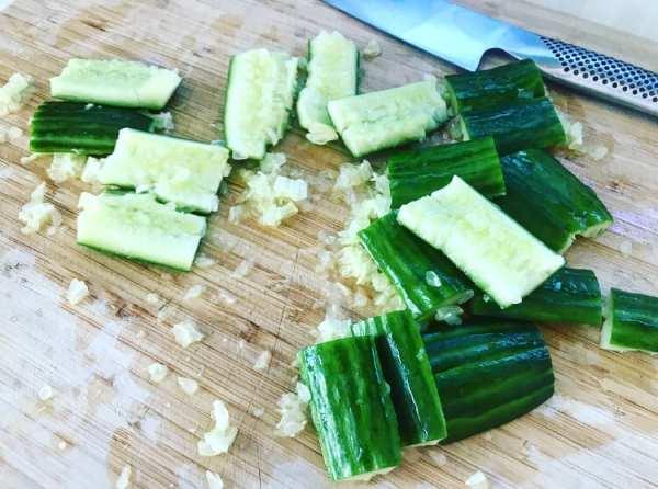 Smashed Cucumber