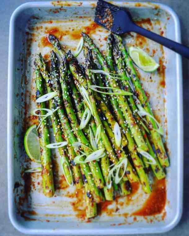 BBQ Asian Asparagus