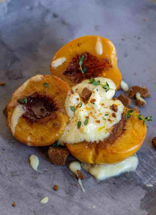 Spiced Roasted Peaches