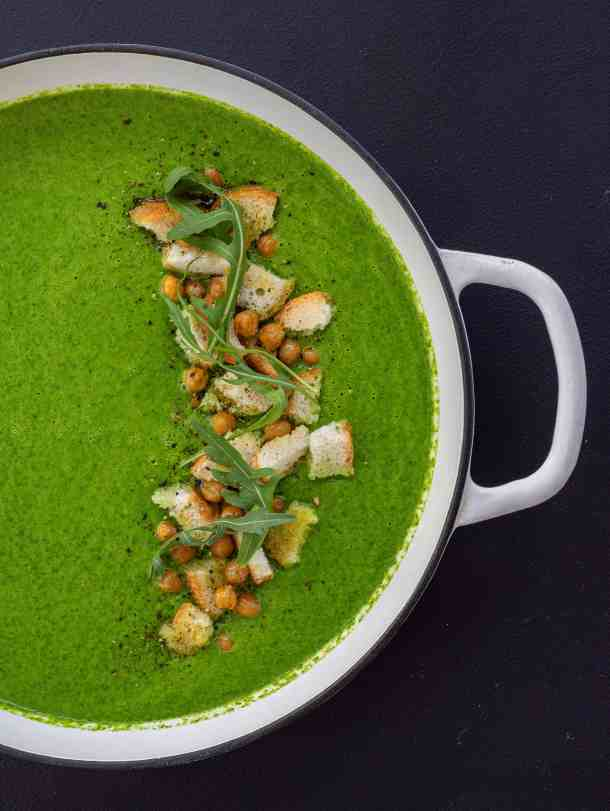 Rocket & Broccoli Soup