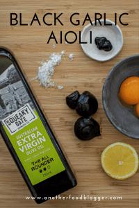 Black Garlic Aioli