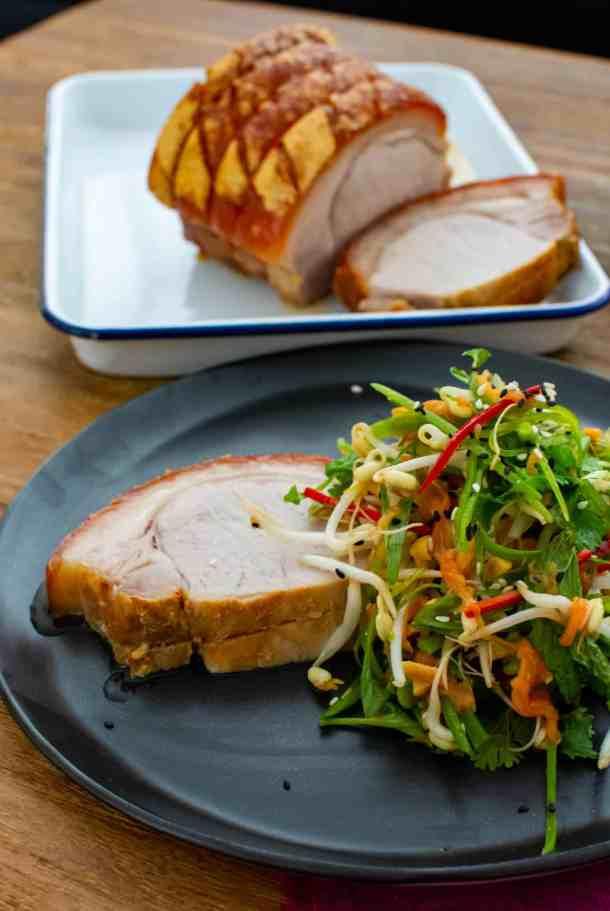 Crispy Pork & Papaya Salad