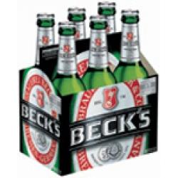 BECKS 12 oz 0 6 Pack Bottles