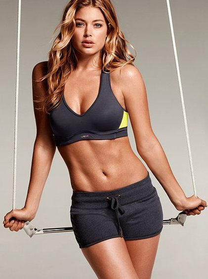 Victoria Secret Model Doutzen Kroes Arm Workout