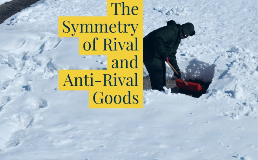 The Symmetry of Rival and Anti-Rival Goods