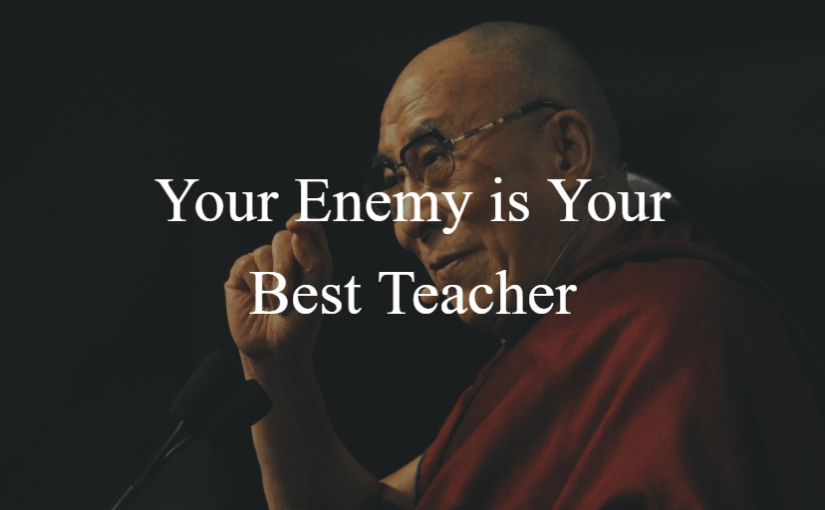 Your Enemy is Your Best Teacher