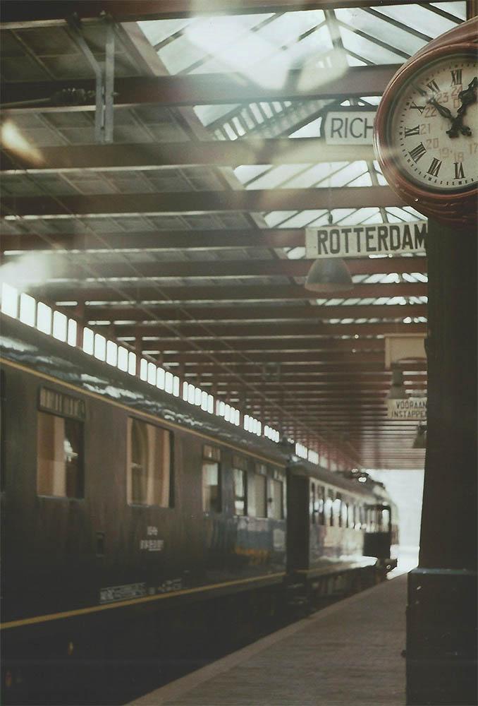 Trainstation platform