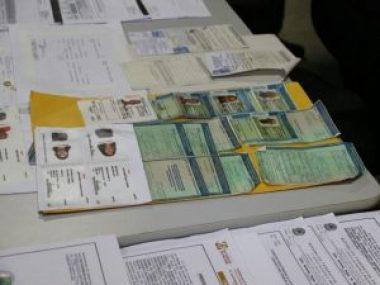 Materiais apreendidos foram apresentados em coletiva de imprensa