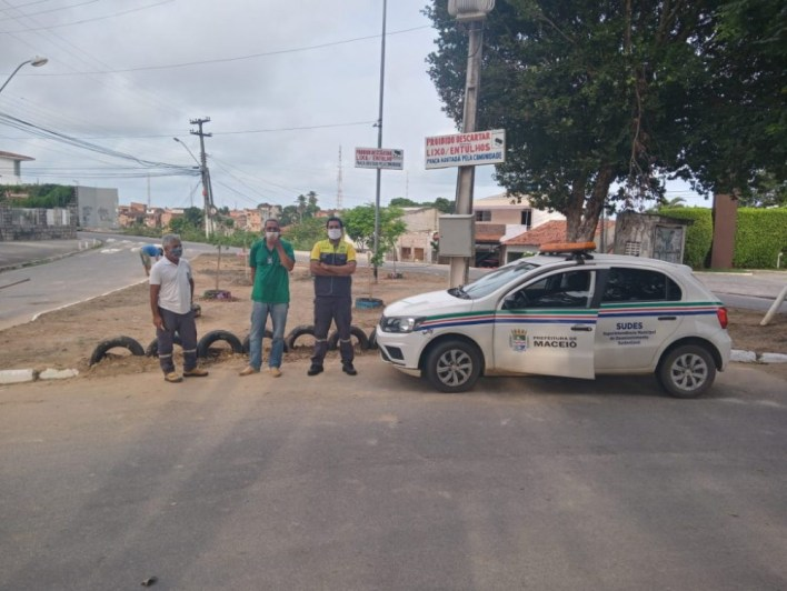Equipes de fiscalização trabalham firme para coibir descarte irregular - Foto: Ascom Sudes